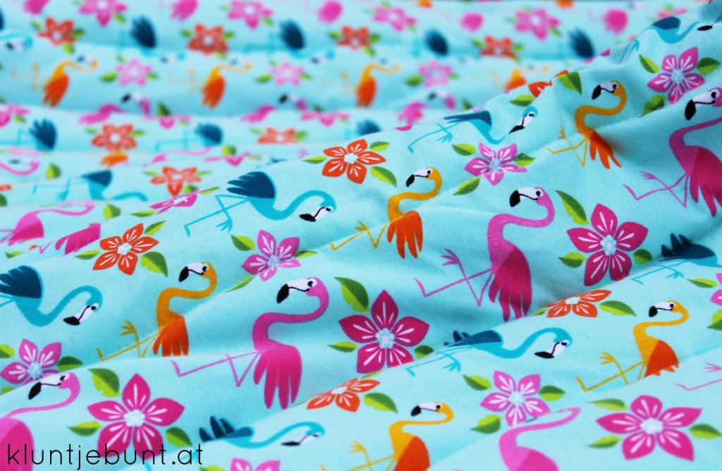 Aloha Flamingo von Lillestoff; Designer Mia Maigrün