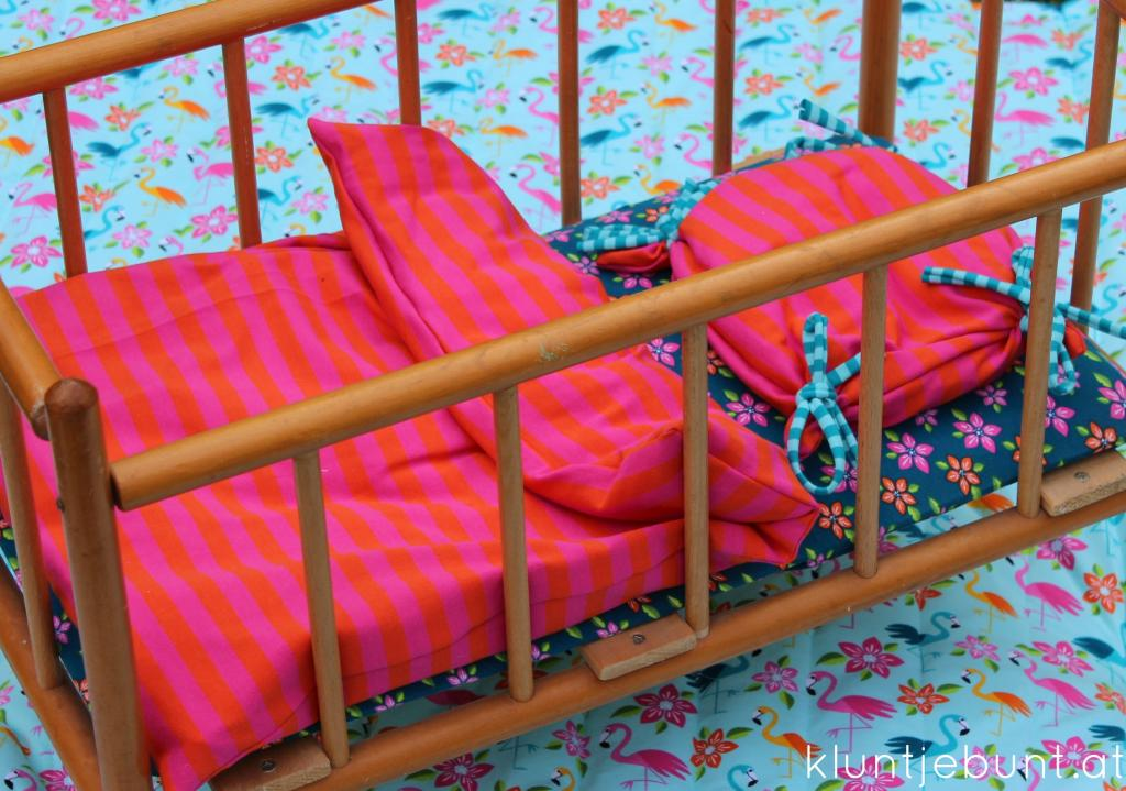 Aloha Flamingo Kombistoff von Lillestoff; Designer Mia Maigrün