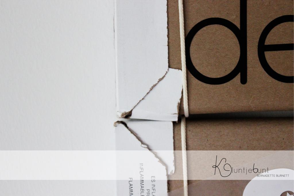 Pinnwand DIY aus Pappe von Kluntjebunt
