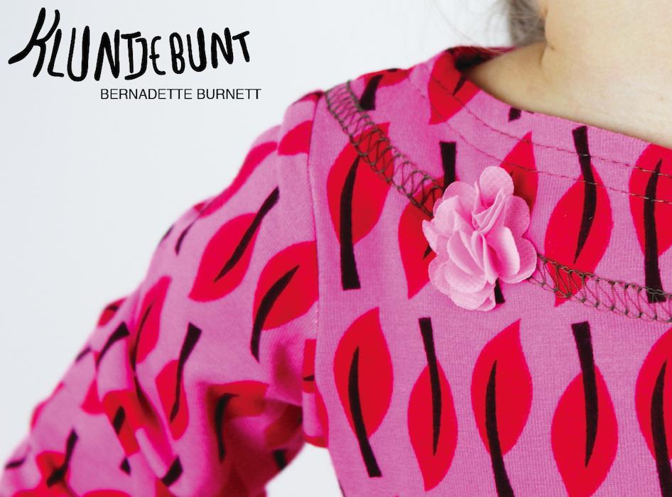 """""""Sveja"""" von Kibadoo aus Lillestoff Little Forest Leaves genäht von Kluntjebunt Bernadette Burnett."""
