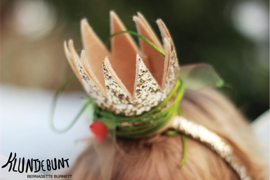 """Prinzessin Lillifee Nähanleitung DIY Tutorial """"Blättergürtel"""" von Kluntjebunt Bernadette Burnett."""