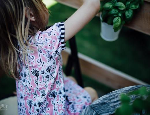 Kinderkleid und Raglankleid aus Sommarlov und Sommarlov Kombi